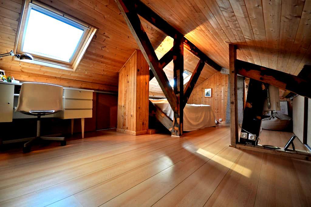 Chambre cosy combles Neoma et fac - Reims - Haus