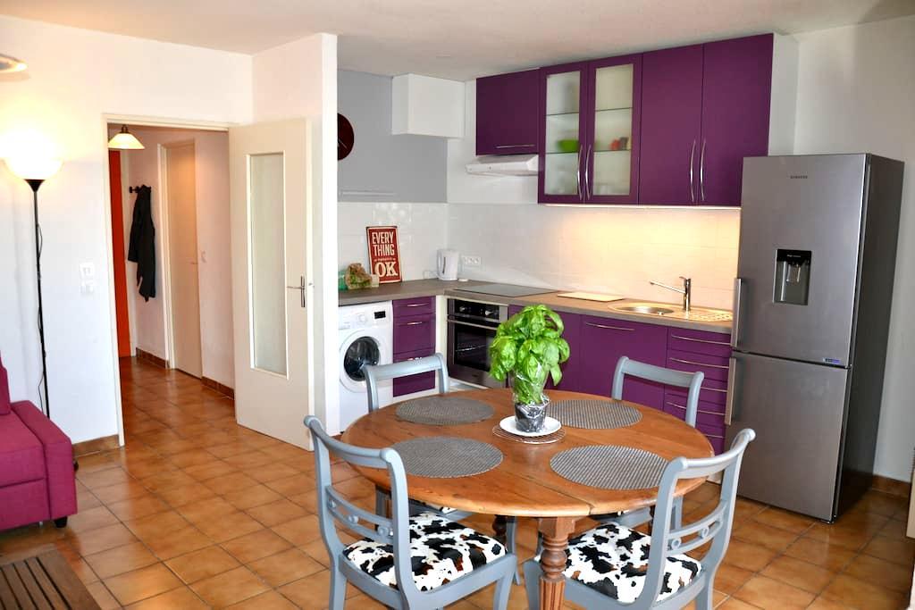 Appartement 45 m2 dans village - Sainte-Croix-du-Verdon - Huoneisto