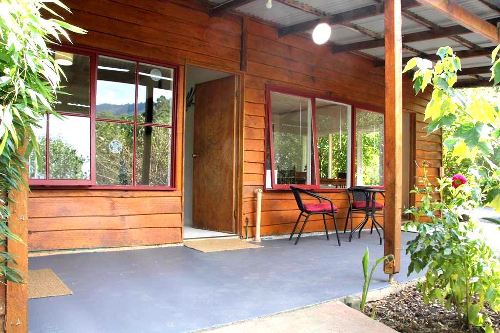 Bluegum Cottage in Healesville. - Badger Creek