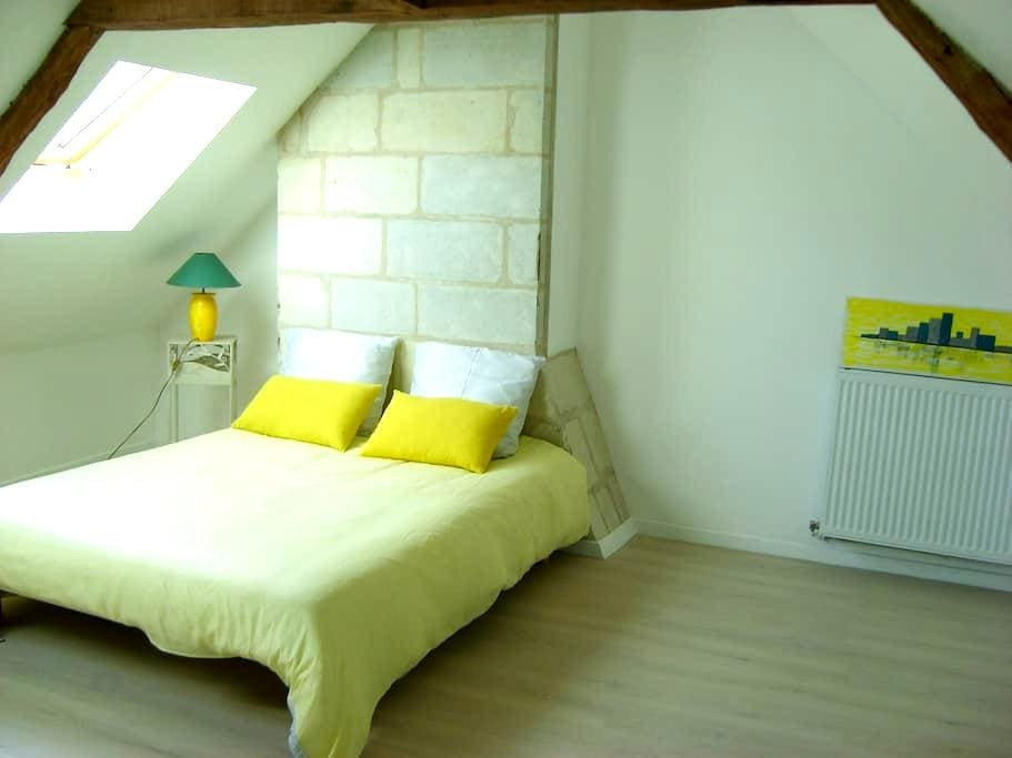 chambre dans maison, douche privative petit déj. - Saumur - ทาวน์เฮาส์