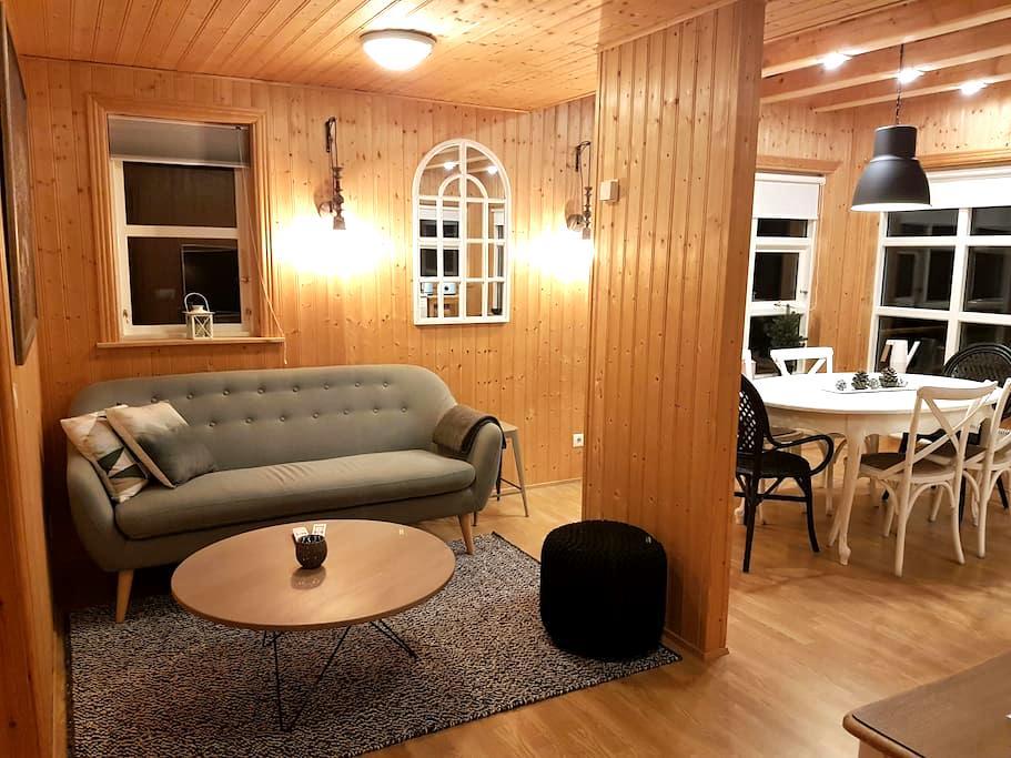 Golden circle cabin w/hot tub #21 - Grímsnes- og Grafningshreppur - Kulübe