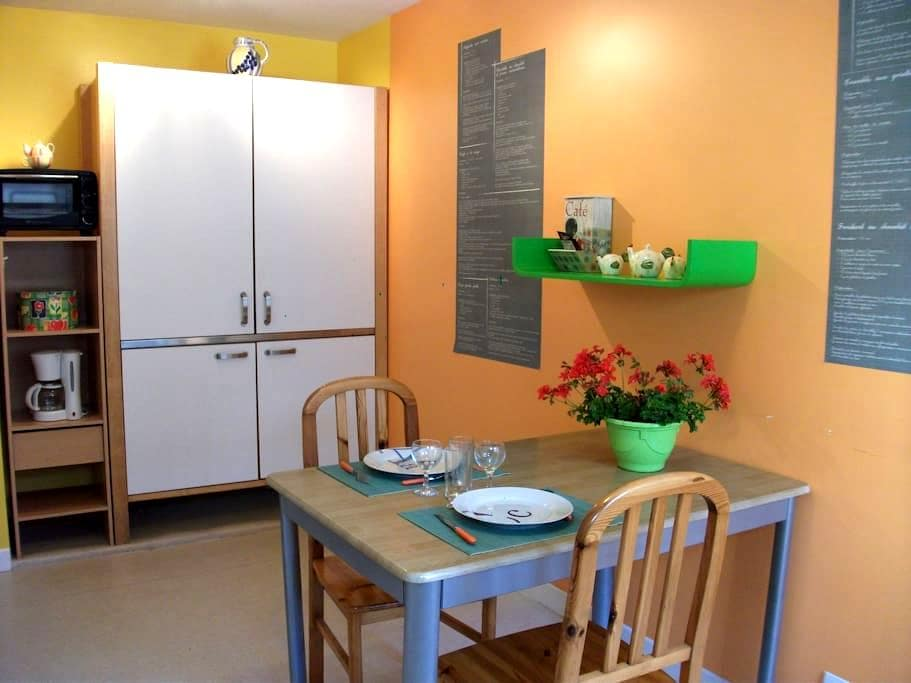 "Welcome, Loft Baie du Mont St Michel ""wifi "" 24/24 - Beauchamps - Apartament"