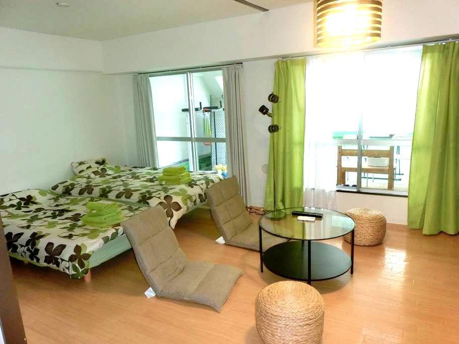 V-1☆Umeda Special House Big Balcony~gym&pingpong - 大阪市
