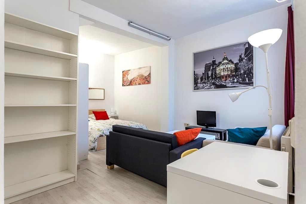 Central and comfortable apartment - Madrid - Lejlighed