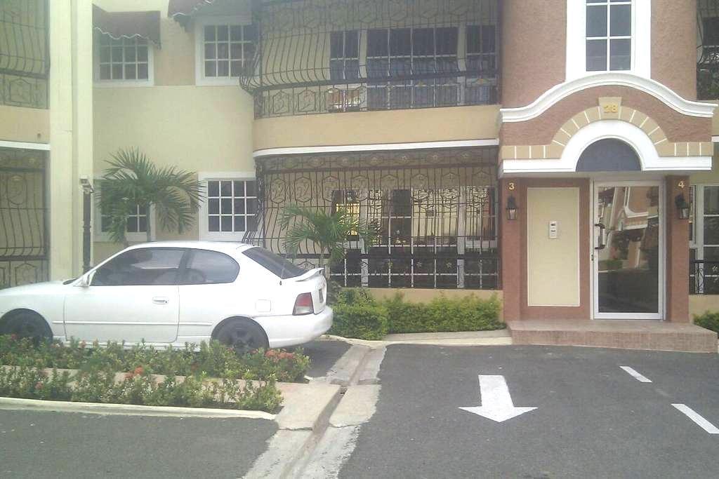 Habitacion con piscina y gimnasio - Santiago de los Caballeros - Apartamento