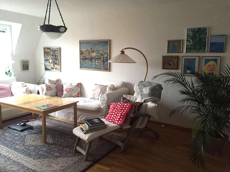 Central apartment with balcony - Varberg - Departamento