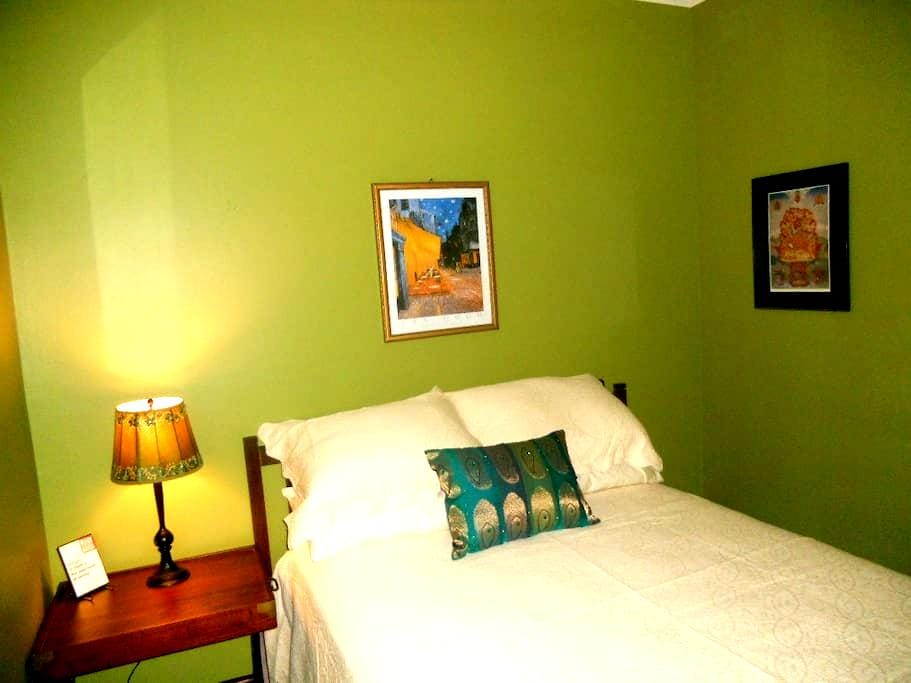 Double bed in private room - Milwaukee - Rumah