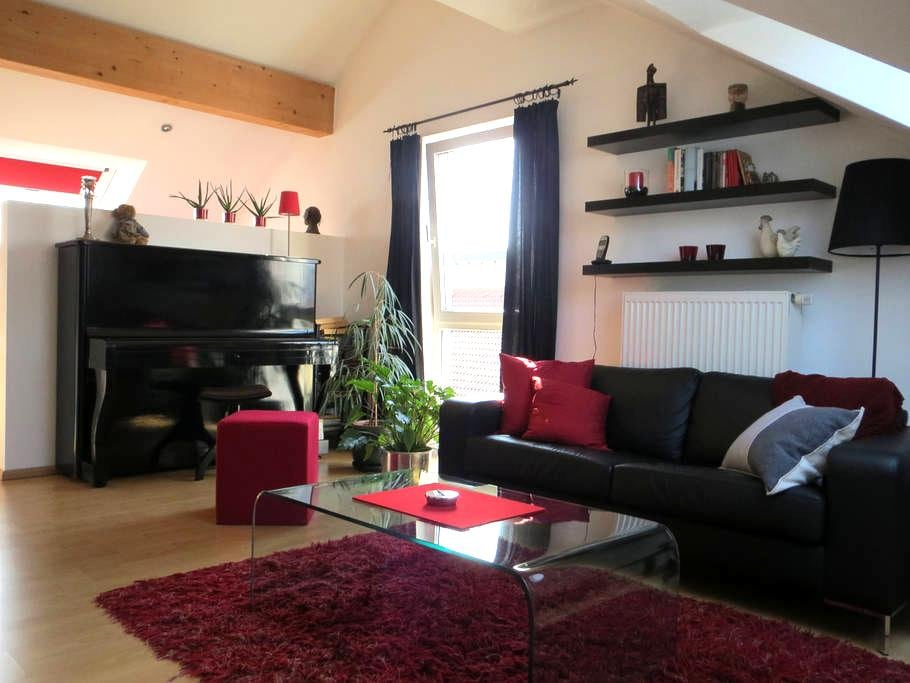 Gemütliches Dachgeschoss-Studio - Liederbach am Taunus