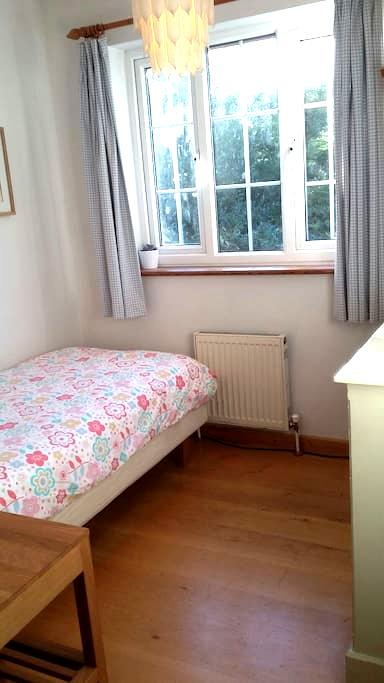 Cosy single room in welcoming home. - Cambridge - House
