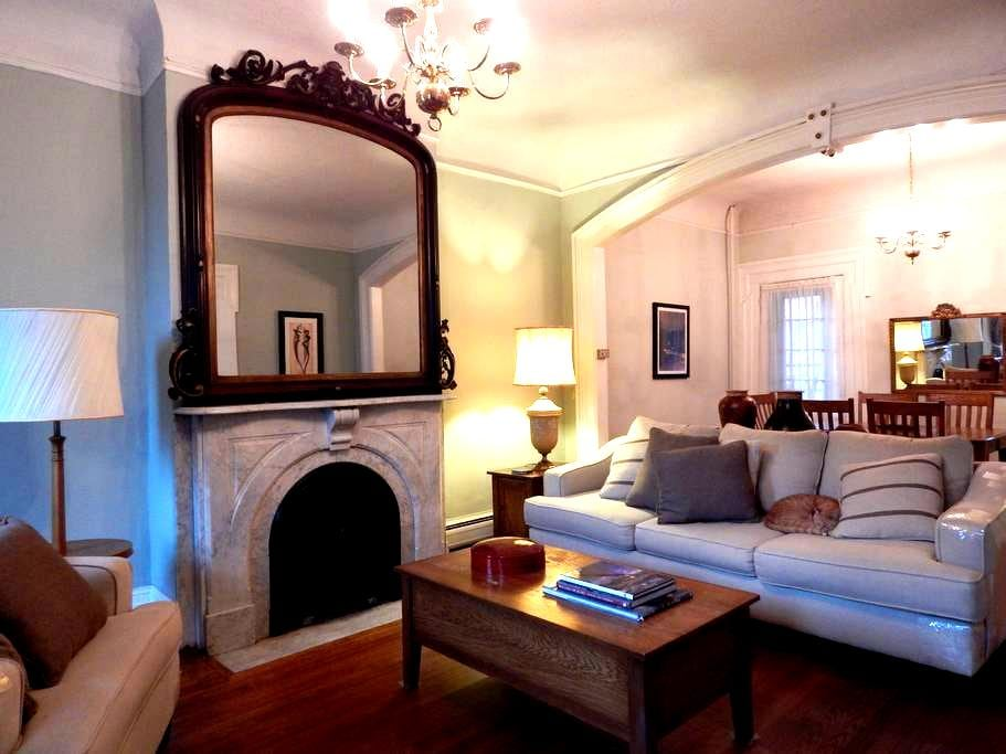 Beautiful Apartment in the Stockade - Schenectady - Apartamento