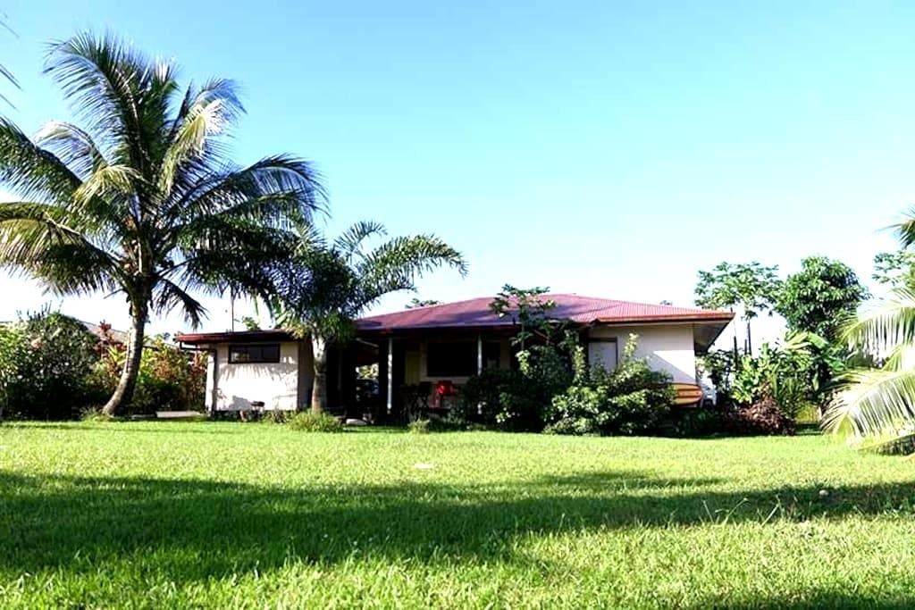 Belle maison vue sur baie Phaeton - Taravao - Huis