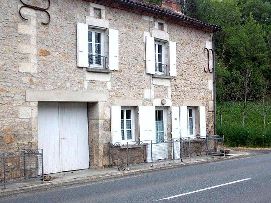 maison de charme - Saint-Vincent-sur-l'Isle - Casa