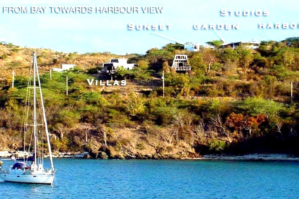 Harbour View Garden Studio - Culebra - Appartement