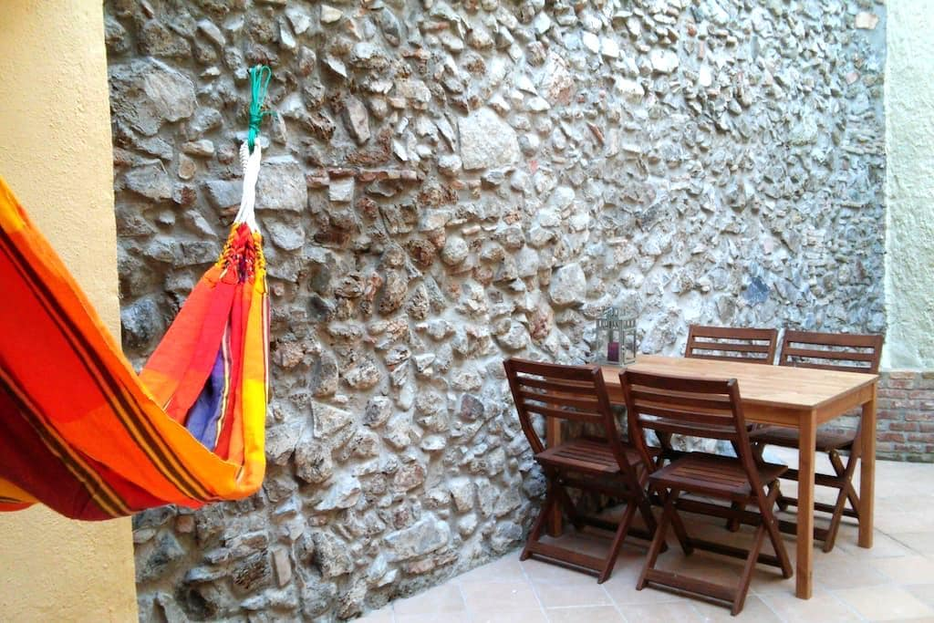 Cal Pedret, charming lodging for 4 - Riudecanyes - Wohnung