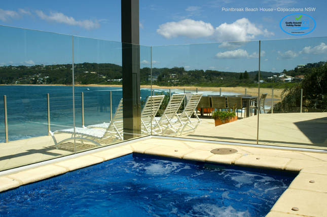 Point Break Beach House Beach Front House Houses For Rent In Copacabana New South Wales Australia