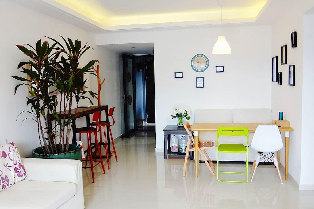 广州科学城舒适品质三居 Your Cosy Home in East Guangzhou - Cantón - Apartamento