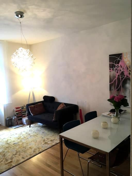 City center, 5 min walk to trainstation/old town - Lucerne - Apartamento