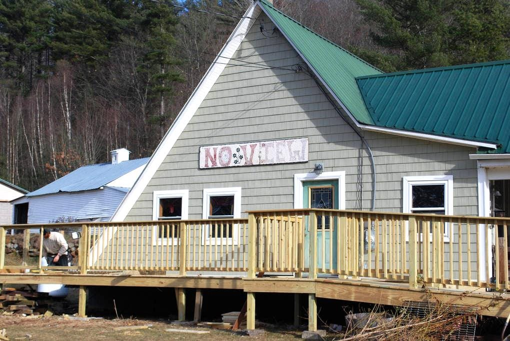 Ski/Board Maine  On Farm 2 Room King loft Suite - Rumford