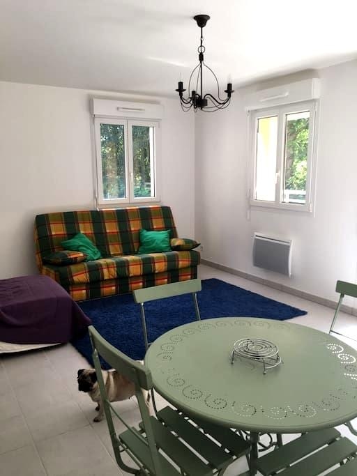 Appartement (T2) très calme - Villedieu-les-Poêles - Apartamento
