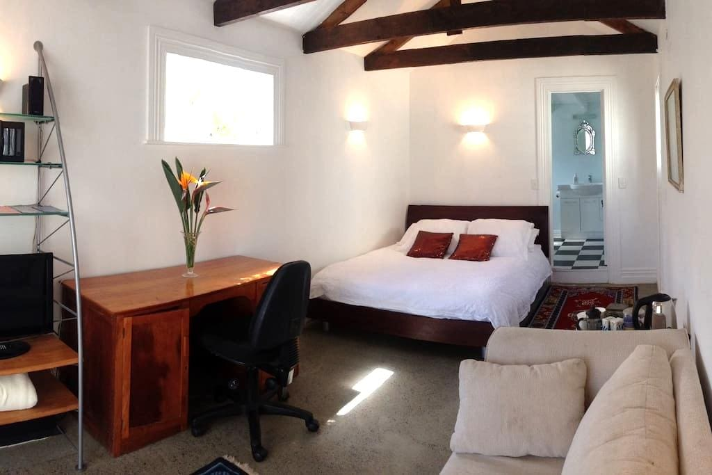 Studio in Grey Lynn with Ensuite. - Auckland - Hytte