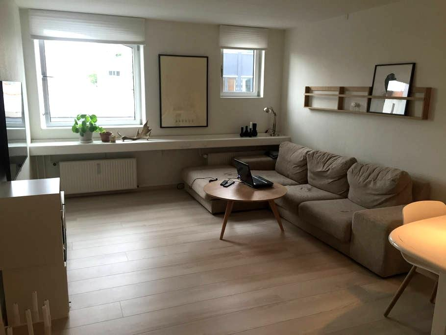 2-bedroom flat near essential tourist attactions - Aarhus - Apartamento