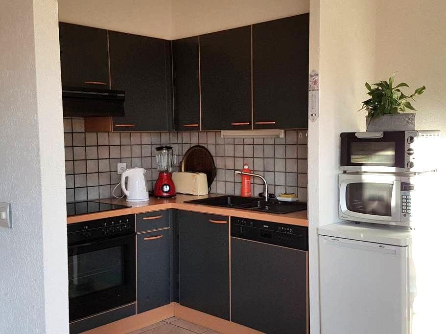Appartement confortable, lumineux, cosy, commerces - Uvrier - 公寓