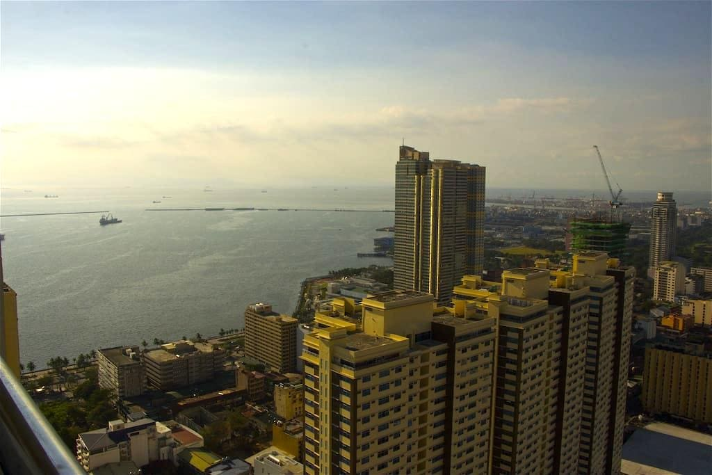 Superb View On Manila Bay - Manila - Appartement