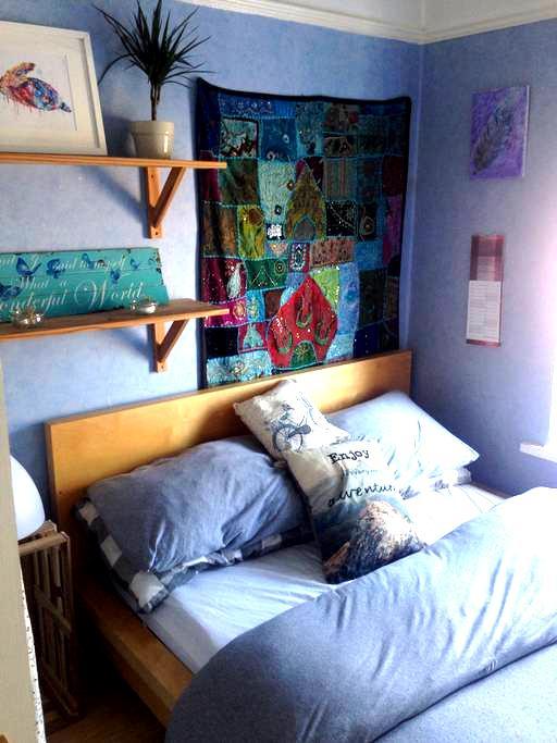 Dbl bed, small cozy room Nr Cardiff Bay & Stadium - Cardiff - Casa