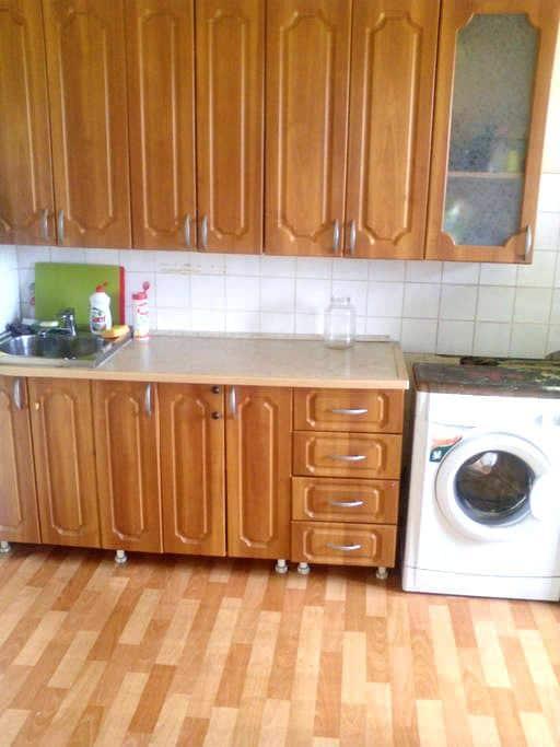 2хк-квартира в Академгородке, рядом ж/д, НГУ, лес - Nowosibirsk