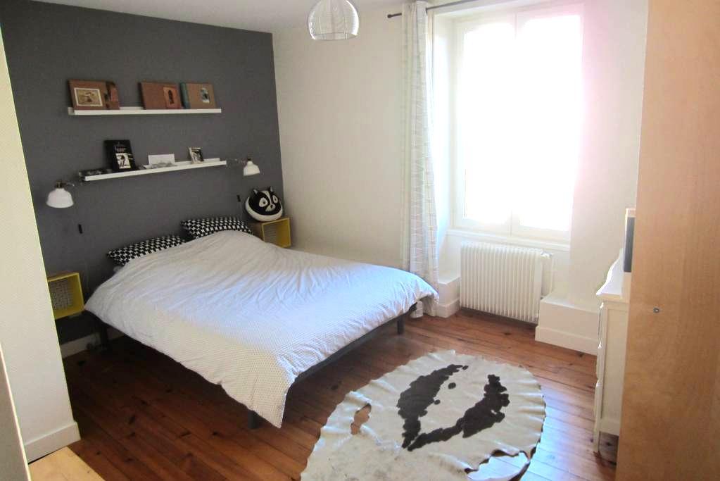 Chambre double - maison à Blanzat - Blanzat - Haus