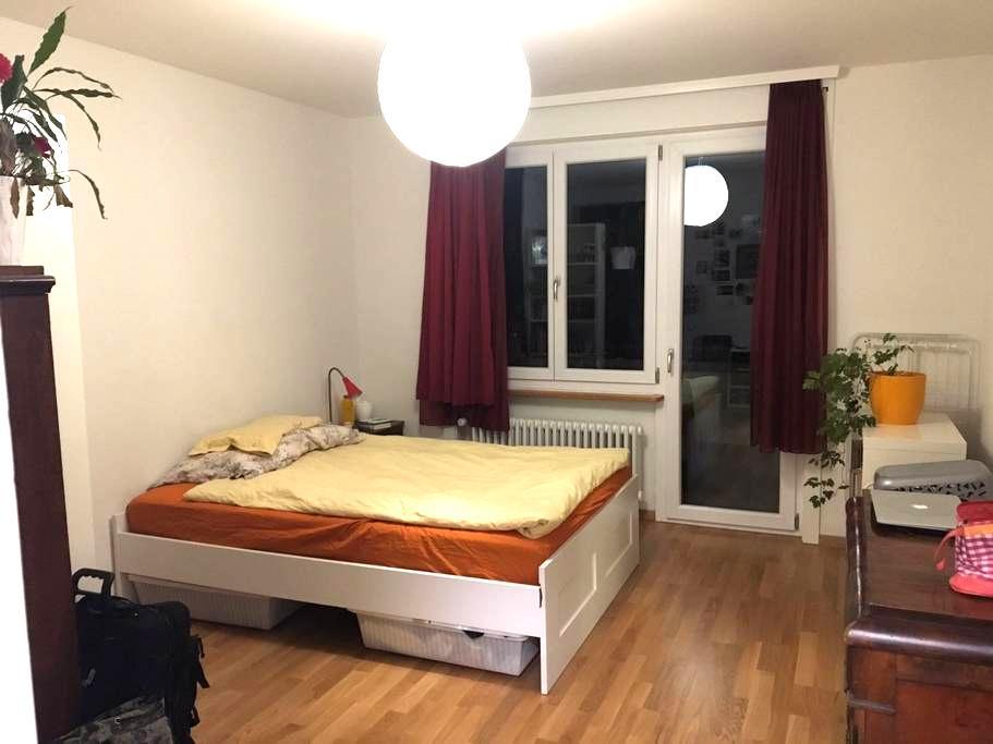 Cozy and comfy room, 10mins from city center Bern! - Bern - Apartamento