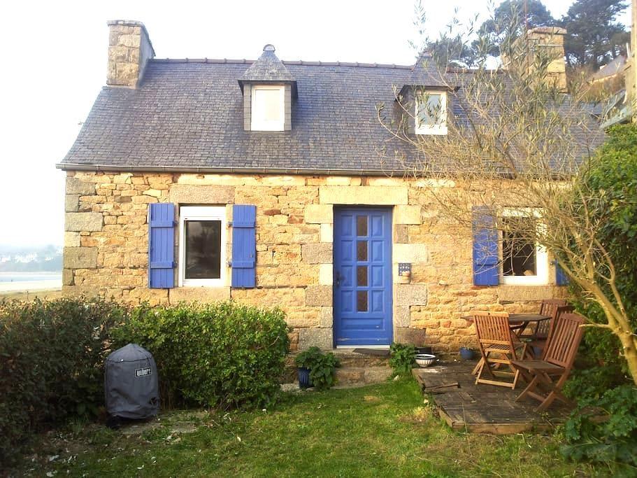 maison de pêcheur - Saint-Michel-en-Grève - Haus