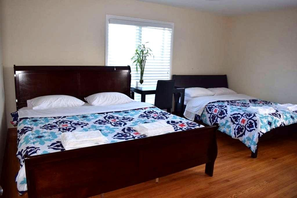 Master private room/bath near SFO - San Bruno - Hus