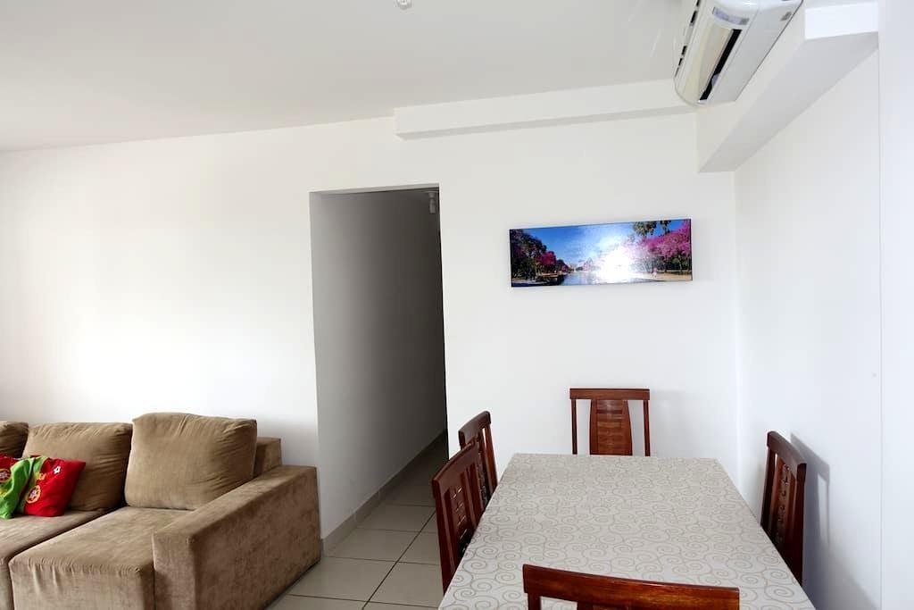 ** Nueva Apartamento Condo-amueblado de lujo ** - 库亚巴 (Cuiabá) - 公寓