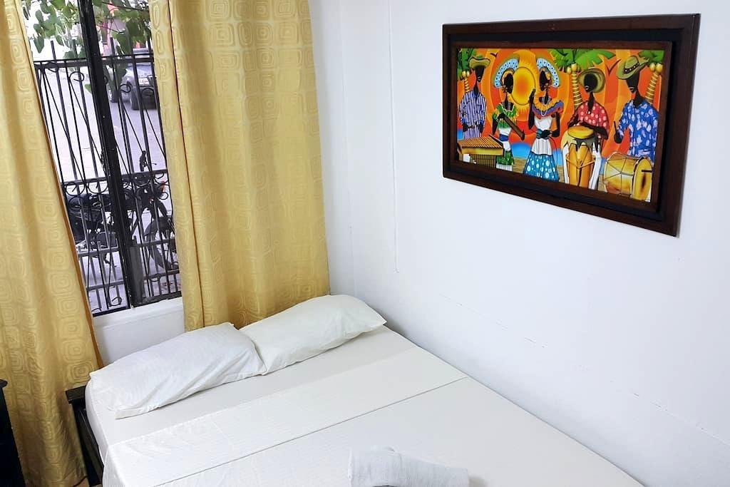 Habitación Doble Baño Compartido en Hostel Sheylla - San Andrés - Penzion (B&B)