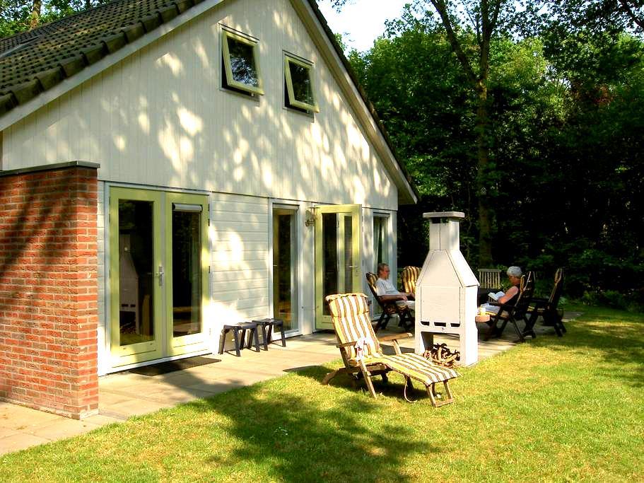 """Ferienhaus """"Meeuw"""" in den Wäldern von Gaasterland - Oudemirdum"""