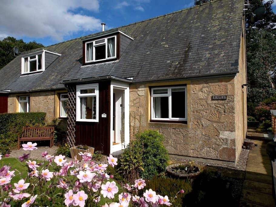 Cottage with sunny Garden Room in National Park - Saint Fillans - Maison
