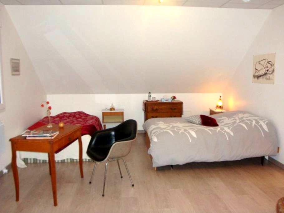 bel espace cosy et spacieux avec SDB contigüe - Seloncourt - House