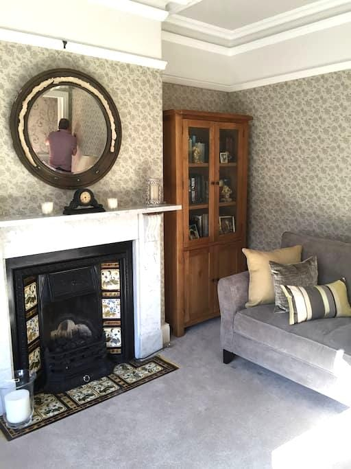 Victorian, terraced home in Morpeth - House
