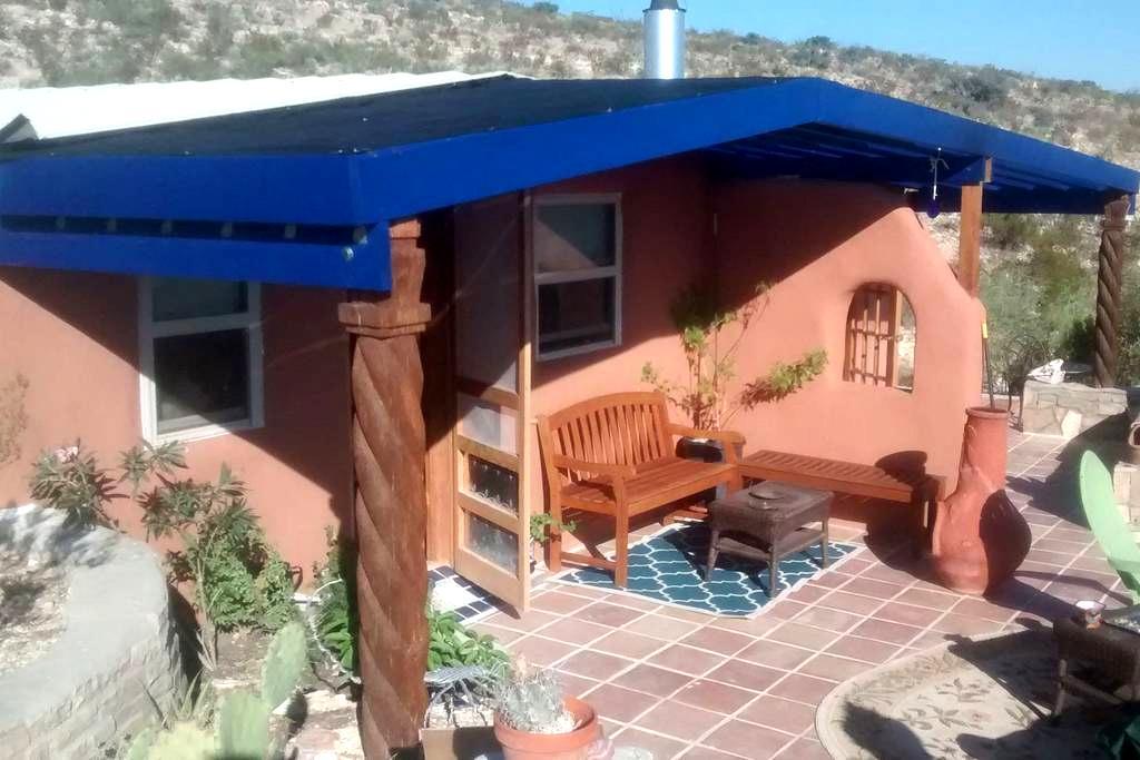 Blue House, an Off-Grid Sanctuary - Terlingua