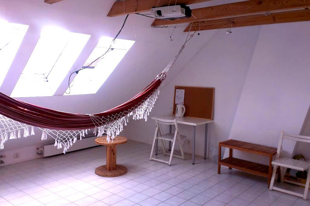 Klimatyczne studio z hamakiem blisko centrum - Gdynia - Apartment