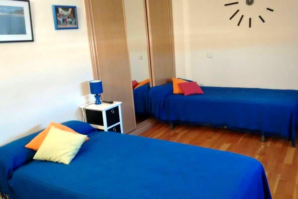Habitación privada+baño - Alcala de Henares - Huoneisto