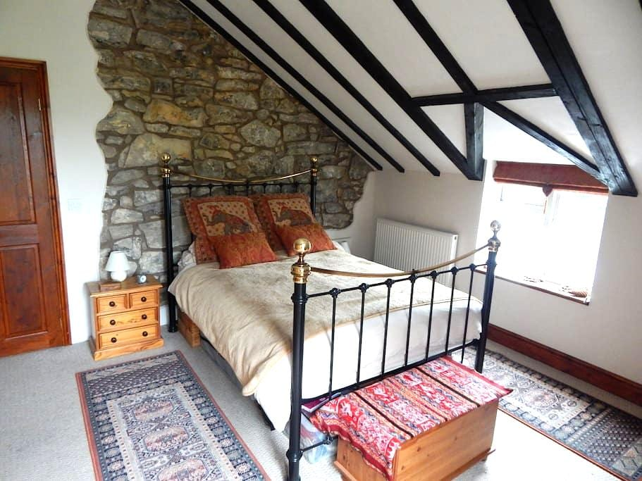 Large Double ensuite room with stunning views - Gwynfryn