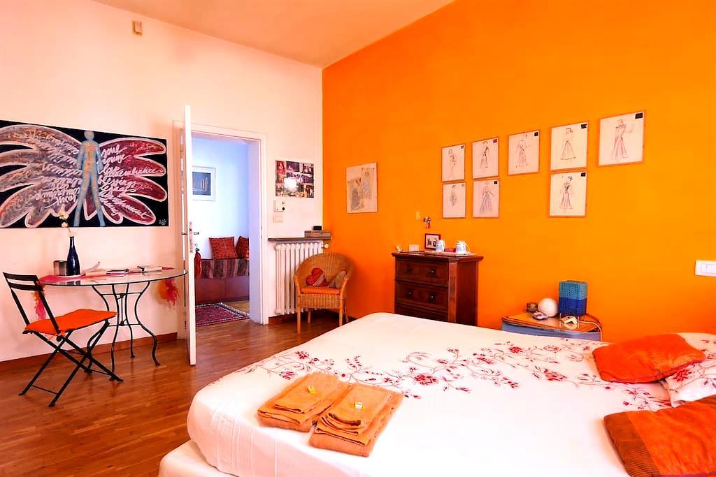 Artist Verona , cozy room , in Verona City center - Verona - Lejlighed