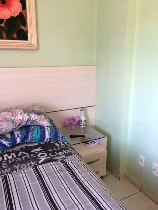 Quarto Individual e confortável em Águas Claras. - Brasília - Apartamento