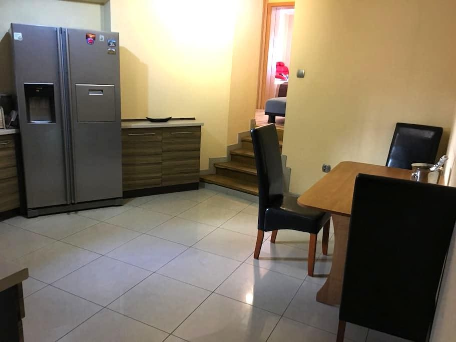 Spacious apartment near the Trade Centre - Poznań - Leilighet