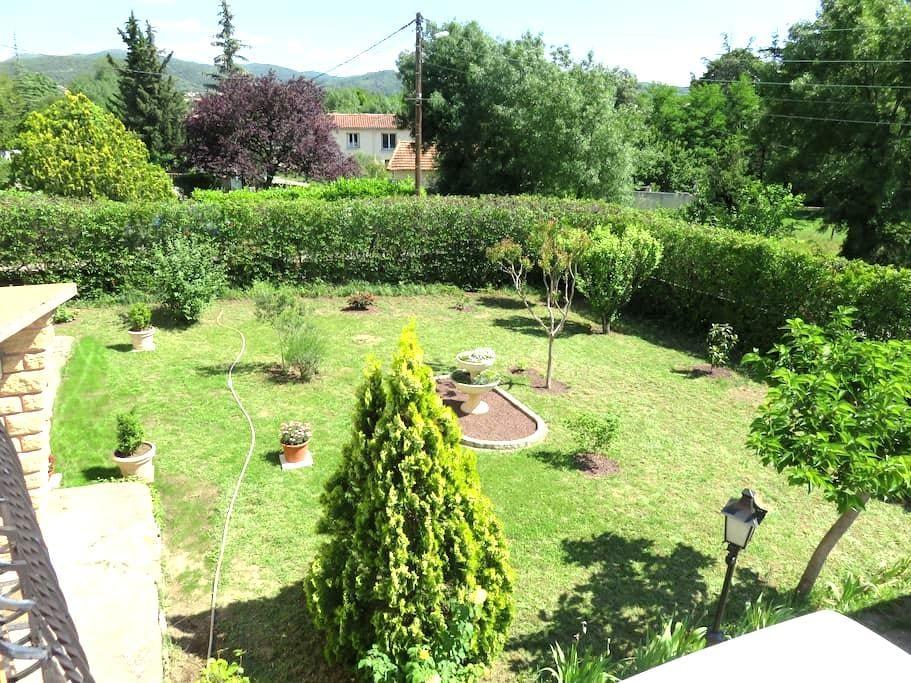 GARD, un coquet appartement dans villa - Saint-Martin-de-Valgalgues - Leilighet