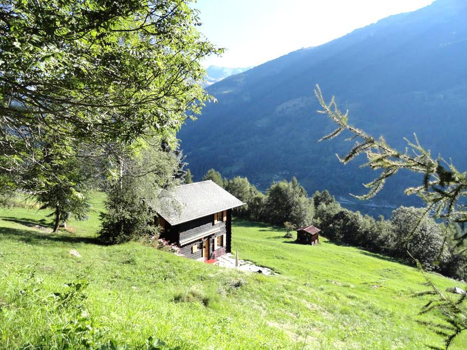 Chalet la Coudrettaz, Grimentz - Grimentz - Chalet