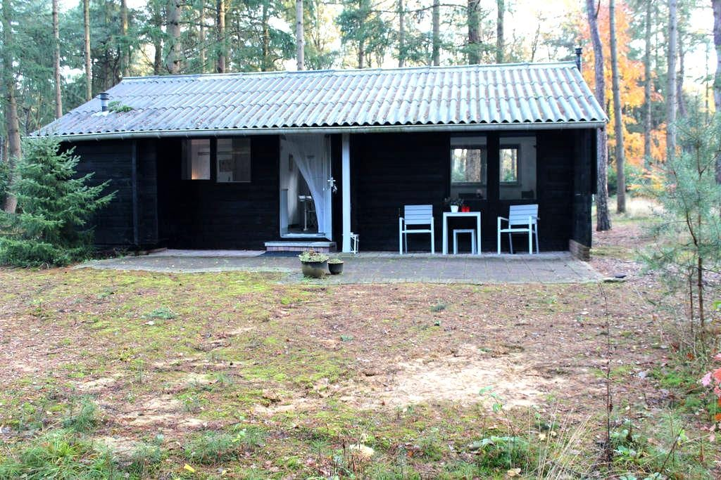 Romantic log cabin 100% privacy - Holten - Dağ Evi