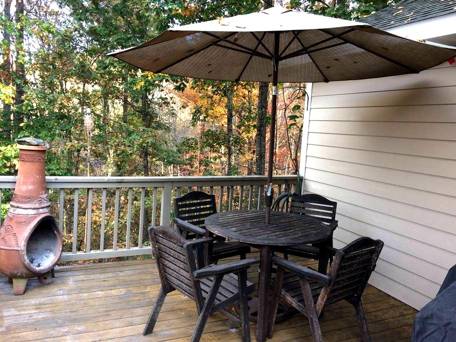 Woodsey Cabin - Swannanoa - อพาร์ทเมนท์